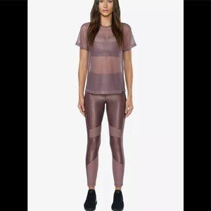 Koral women's lilac leggings sz L